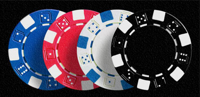 poker chips for the roulette